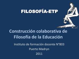Diapositiva 1 - FILOSOFIA-ETP