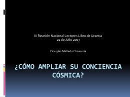 ¿Cómo Ampliar Su Conciencia Cósmica?