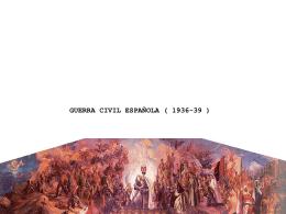 ¿qué fue la guerra civil española?