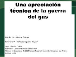 A10 años guerra gas