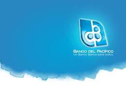Presentación BANCO DEL PACÍFICO