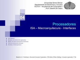 Ciclo de instrucción general - prof.usb.ve.