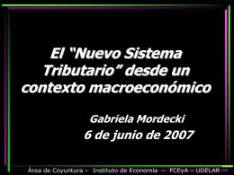 Informe de Coyuntura Uruguay 2006