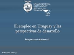El empleo en Uruguay y las perspectivas de desarrollo