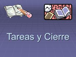 5 Tareas y Cierre