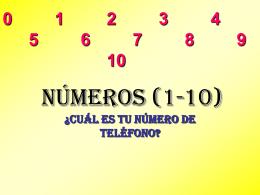 Números (1-10)