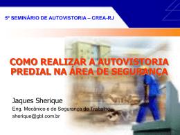 Apresentação do PowerPoint - Crea-RJ