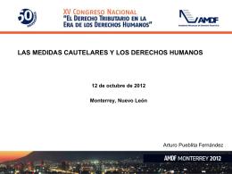 presentacinCongresoMonterreyAPF_Lic._Arturo_Pueblita