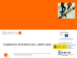 comercio interior del libro 2008