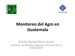 Políticas agrarias y comerciales Guatemala 2010