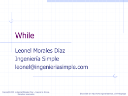 clase08 - Ingeniería Simple