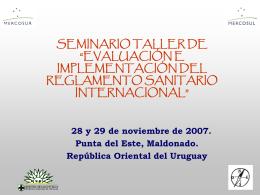 comisión intergubernamental de implementación del rsi