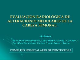 Anatomía radiológica normal.