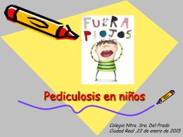 Pediculosis en niños