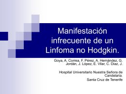 Linfoma pancreatico