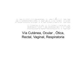 adminsitracion de medicamentos