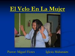 10-El Velo En La Mujer - Iglesia de Cristo Mahanaim