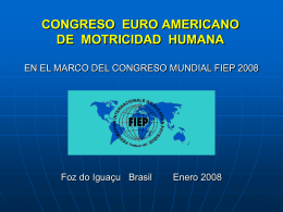 un poco de historia - Rede Euro-americana de Motricidade Humana