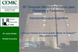 35º simposio medico informativo para pacientes y familiares