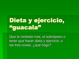 Dieta y ejercicio, clic aqui