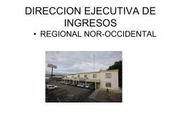 - Dirección Ejecutiva de Ingresos