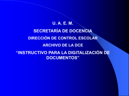 instructivo para la digitalización de documentos