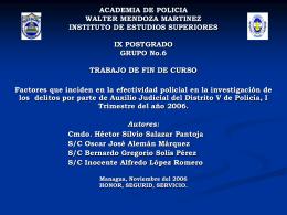 invdeldvaj - Policía Nacional