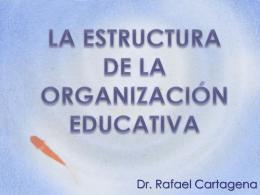 La Estructura de la Organización Educativa