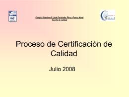 Proceso: Análisis de la información