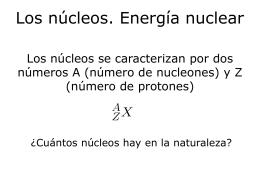 Presentacion PowerPoint sobre fision y fusion nuclear