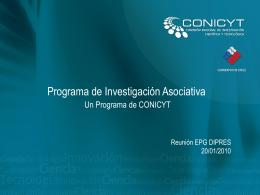 Programa de Investigación Asociativa
