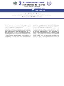 descargar - 3er Congreso Argentino de Sistemas de Tutorías