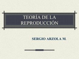 TEORiA DE LA REPRODUCCIoN1