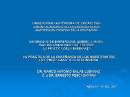 universidad autónoma de zacatecas unidad académica de docencia