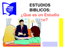 AL -El Estudio Biblico