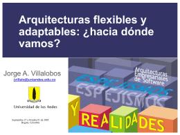 Arquitecturas flexibles y adaptables