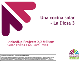 La Cocina Solar - Links into Languages