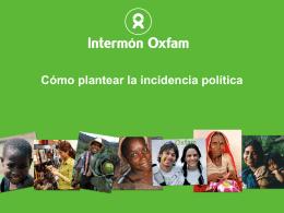 """""""incidencia""""? - Educadores y educadoras para una ciudadanía global"""