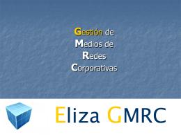 Presentación de Eliza GMRC