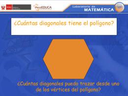 Número de diagonales que se pueden trazar desde un vértice.