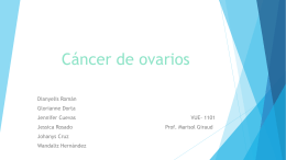 Cáncer de Ovarios
