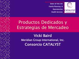 producto dedicado y estrategias de mercadeo