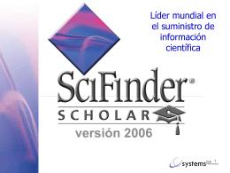 Sci-Finder Scholar