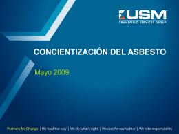 Concientización del Asbesto