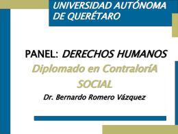 Módulo II: Derechos Humanos - Universidad Autónoma de Querétaro
