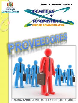 proveedores - Ministerio de Economía y Finanzas Públicas
