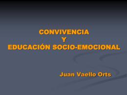 V.convi y ed. socioemocional