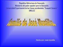 Republica Bolivariana de Venezuela. Ministerio del poder