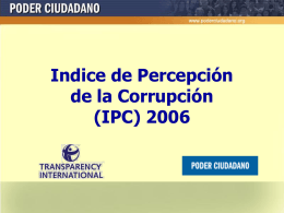Diapositiva 1 - Poder Ciudadano