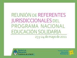presentacion_referentes - Ministerio de Educación